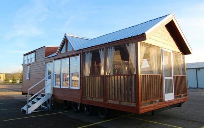 Taşınabilir Rustik Evler