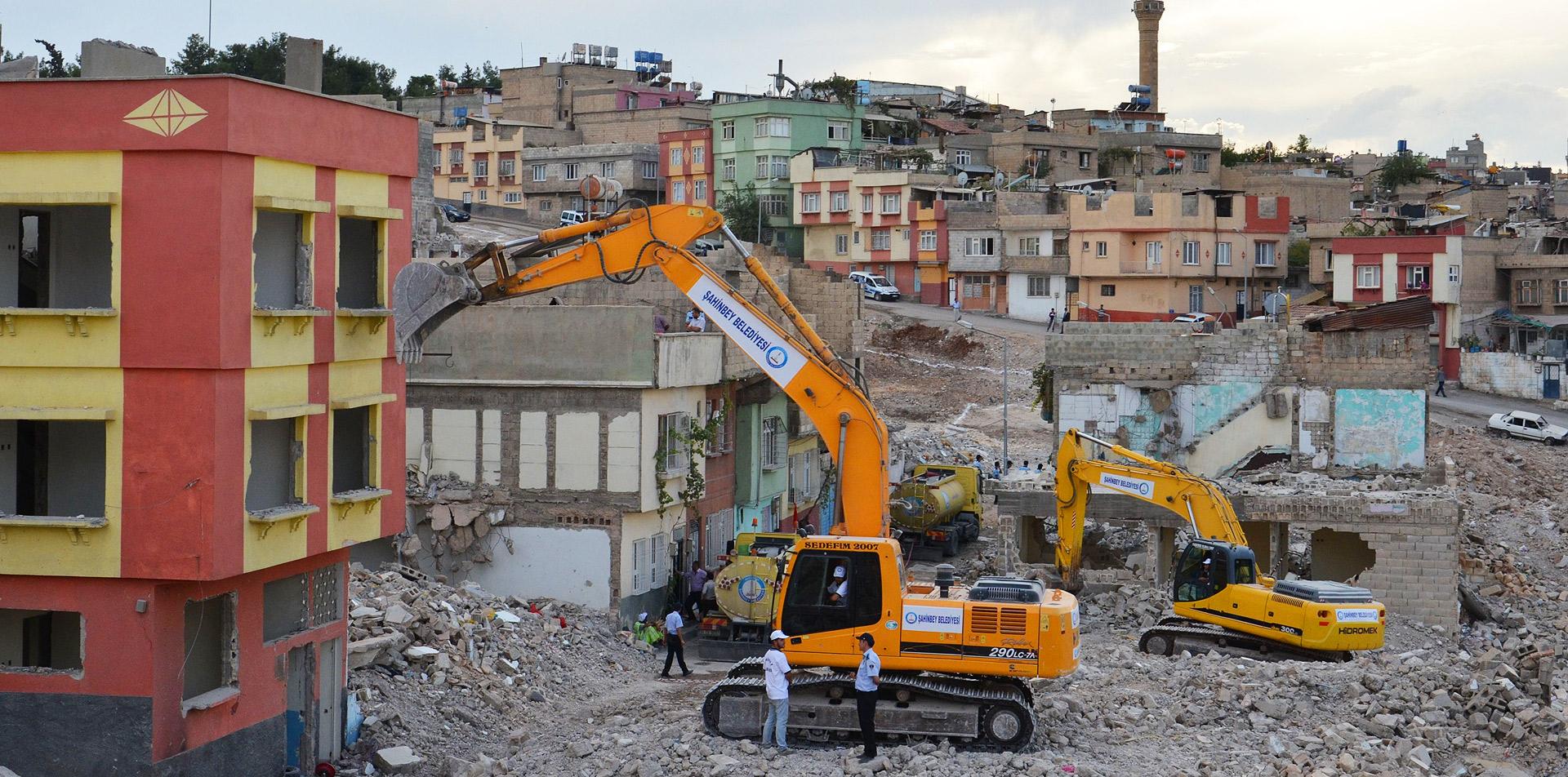 Türkiye'de 72.5 Milyon Metrekarede Kentsel Dönüşüm Çalışmaları Sürüyor