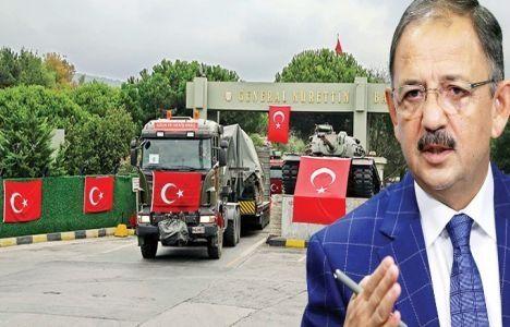 Mehmet Özhaseki Askeri Alan Tartışmalarına Noktayı Koydu!