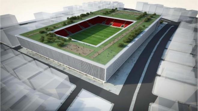 Göztepe Stadı'nı Yapı Ruhsatı Onaylandı