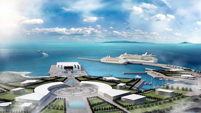 Antalya Kruvaziyer ve Yat Limanı projesi Başlıyor