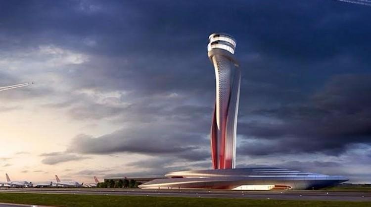 3. Havalimanında kulenin temeli atıldı