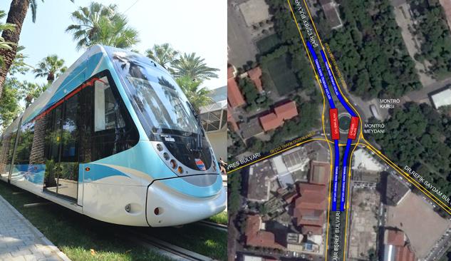 Konak Tramvay Hattının İki Ucu Birleşiyor