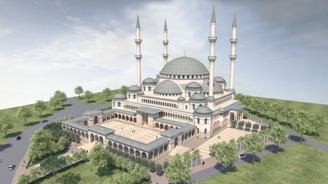 İzmir Protokol Camisinin İnşaatı Başladı
