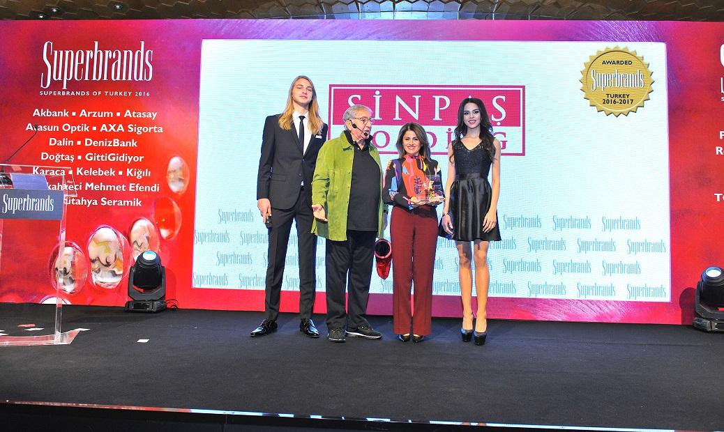 Sinpaş GYO'ya 'Süper Marka' Ödülü