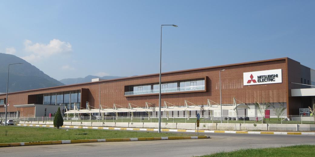 Mitsubishi'nin Manisa'daki Ev Tipi Klima Fabrikası Açılıyor