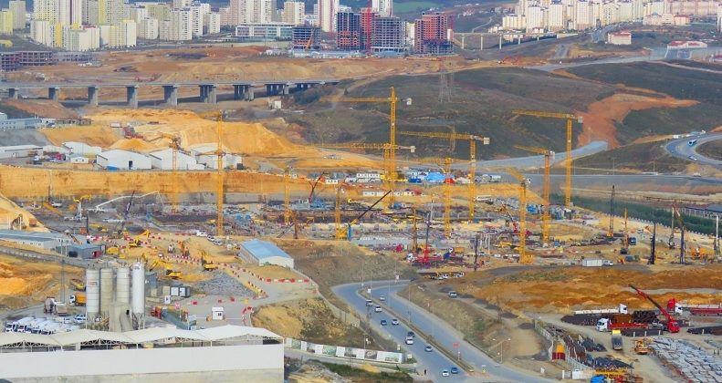 İkitelli Şehir Hastanesi'nde İnşaat Başladı