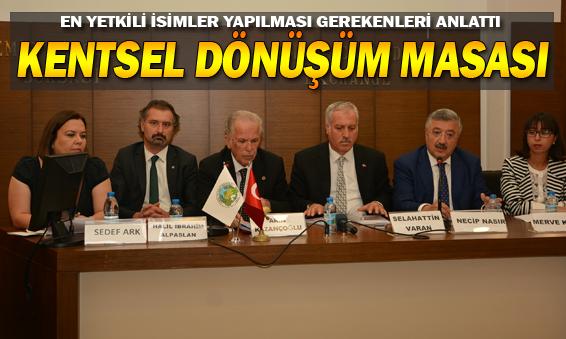 İzmir'de 'Kentsel Dönüşüm' Masası