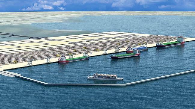 Çandarlı Limanı Üst Yapı İhalesi Yapıldı