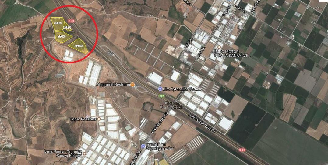 Torbalı Belediyesi'nden 22.5 Milyona Satılık 4 Arsa