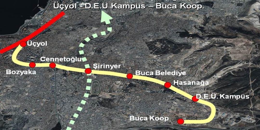 Bakanlık Üçyol-Buca Metro Projesini Onayladı