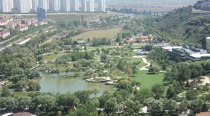 Bahçeşehir Gölet İmara açıldı