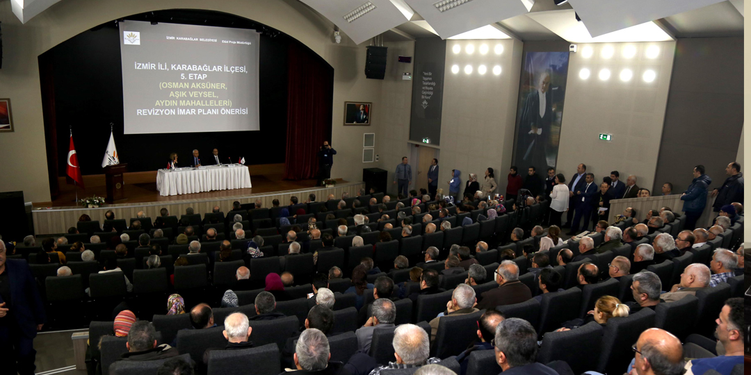 Karabağlar Kentsel Dönüşüm İmar Planı Taslağı Paylaşıldı