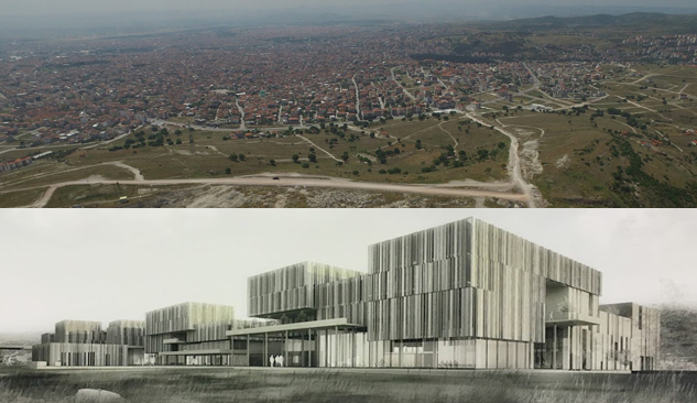 Balıkesir Büyükşehir Belediyesi Hizmet Binasının Mimari Projesi Hazır