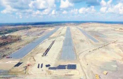 Üçüncü Havalimanı'nda ilk Pistten Görüntü