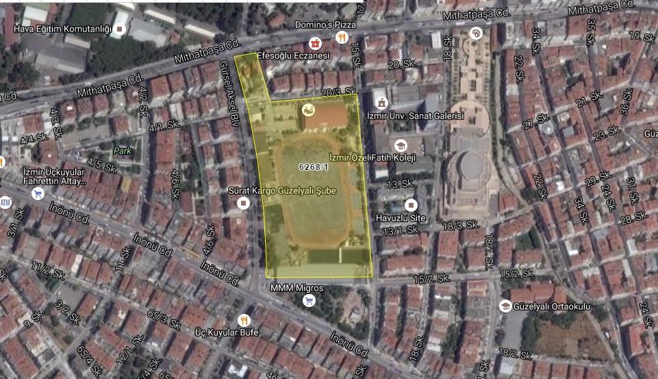 Göztepe'nin Yeni Stadı İçin Acele Kamulaştırma Kararı