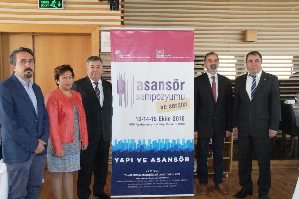 İzmir'de 'Yapı ve Asansör' Konulu Sempozyum