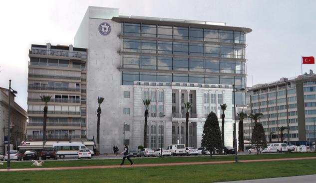 İzmir Ticaret Odası Yeni Binasının Temeli Atılıyor