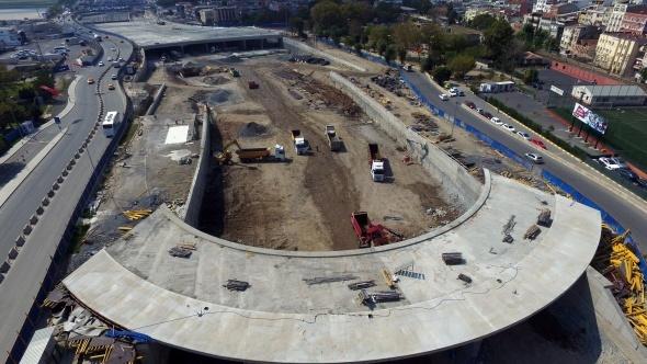 Avrasya Tüneli'nin Asfalt Çalışması Tamamlandı