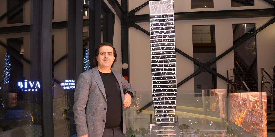Vahap Yılmaz: Biva Tower İzmir'in Yeni Simgesi Olacak