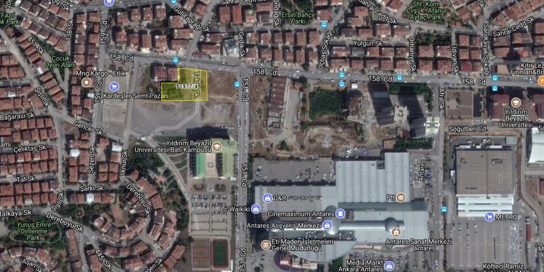 Ankara Defterdarlığı'ndan 32 Milyon TL'ye Satılık 6 Arsa