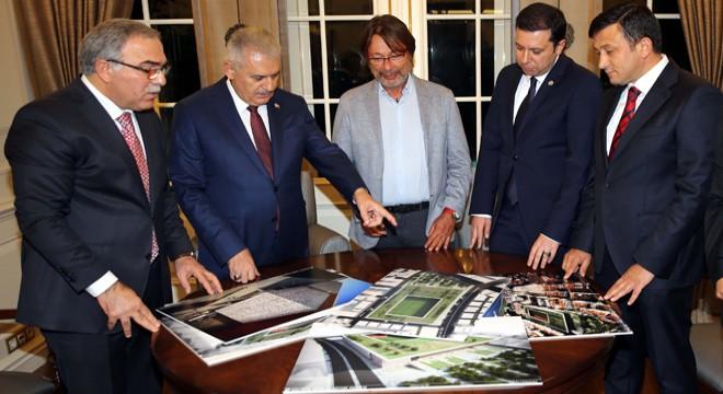 Göztepe Stadı Projesi'ni Başbakan Tanıtacak