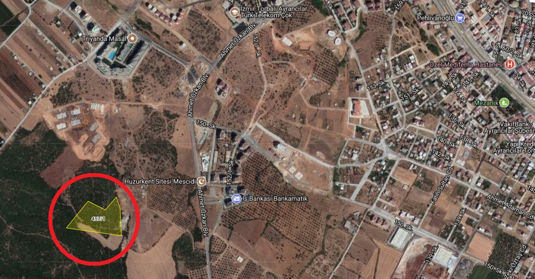 Torbalı Belediyesi'nden 9 Milyon TL'ye Satılık Arsa