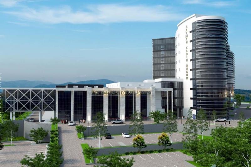 Batman'a 300 Yataklı Yeni Hastanesi Geliyor