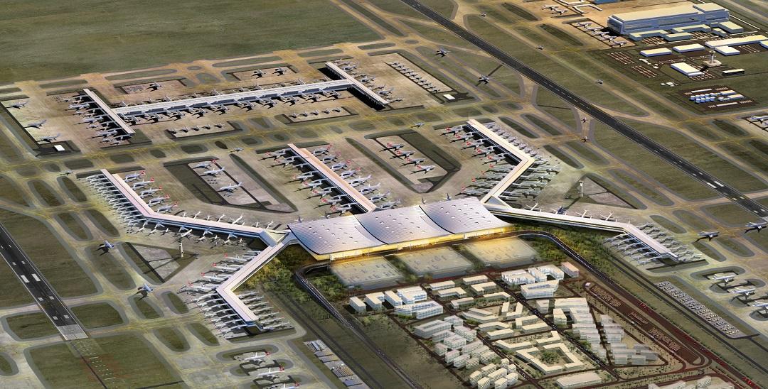 İstanbul Yeni Havalimanı Ticari Alanlarına Büyük İlgi
