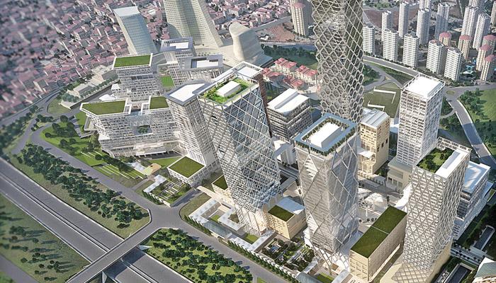 İstanbul Finans Merkezi'nin Temeli Yarın Atılacak