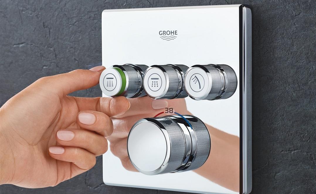 Grohe'den Akıllı Duş Özellikli 'SmartControl'