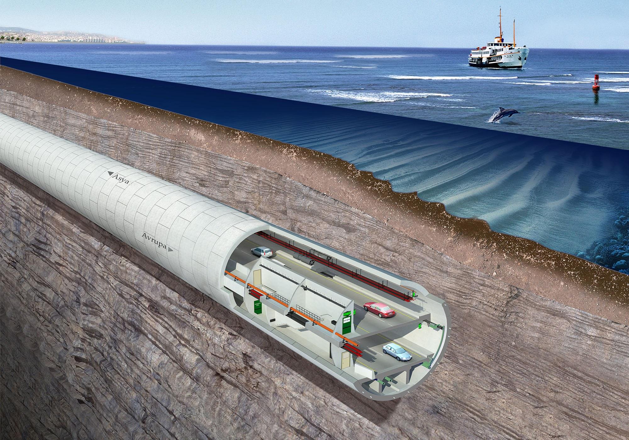 Avrasya Tüneli Dünyanın En İyi Tünel Projesi Seçildi