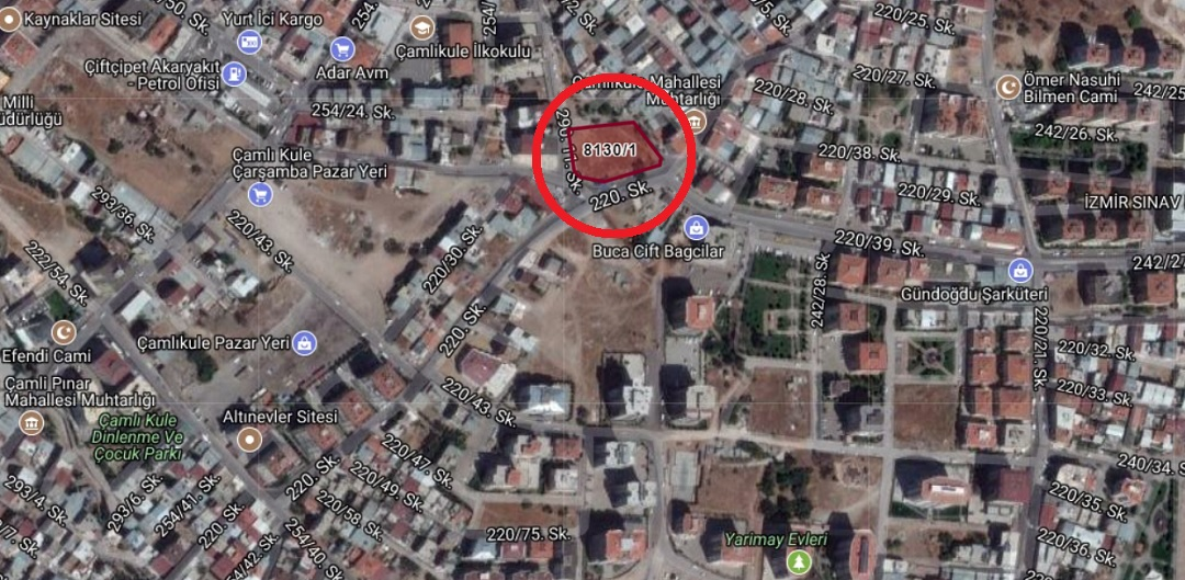 İzmir Defterdarlığı'ndan 23 Milyon TL'ye Satılık 15 Arsa