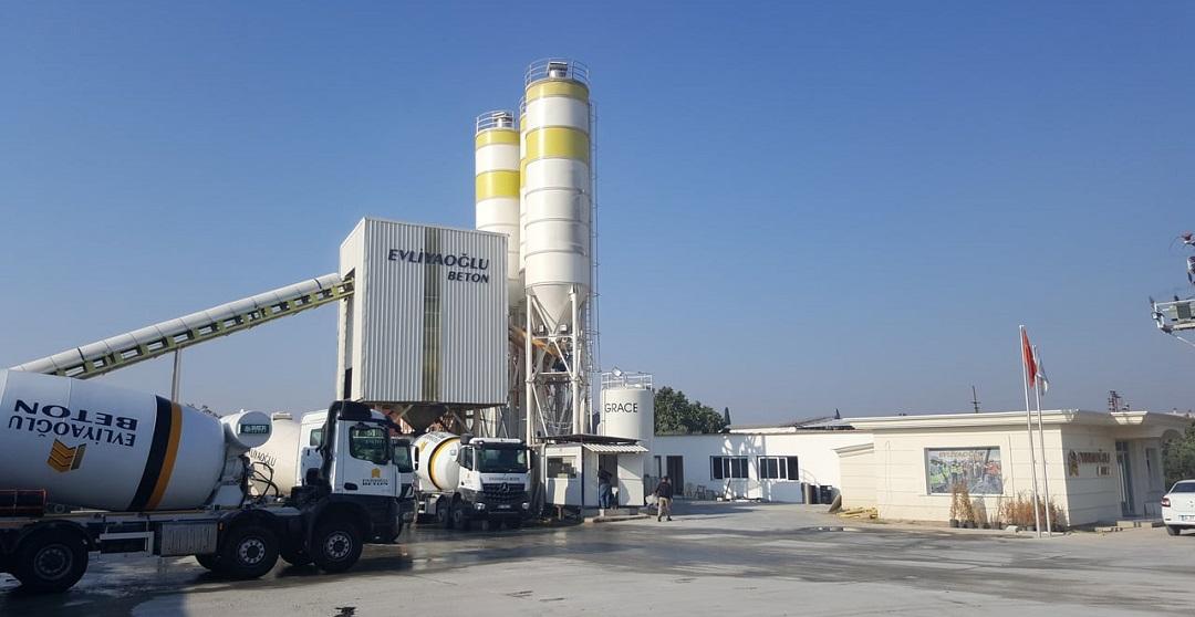 Evliyaoğlu Beton 3. Santralini Gaziemir'de Kuruyor