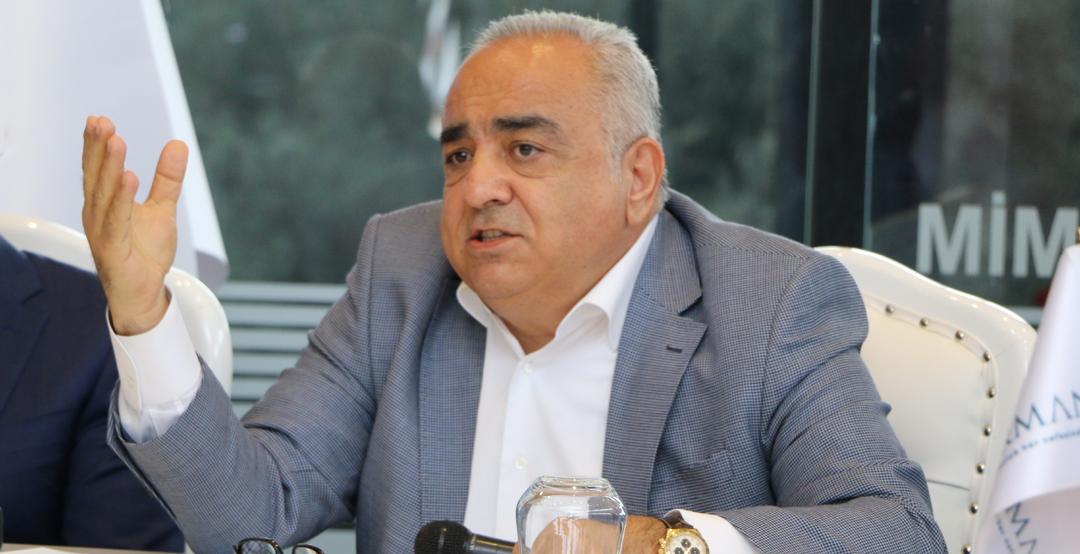 Gordion İzmir'de 5 Yılda 1 Milyon Metrekare İnşaat Yapacak