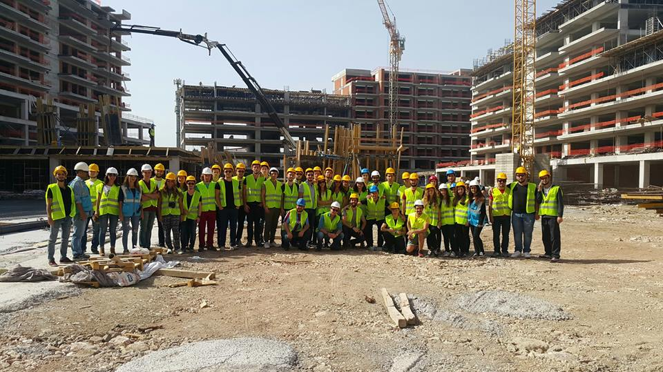 İTÜ Mühendislik Öğrencileri Park Yaşam Ataşehir Şantiyesini Gezdi
