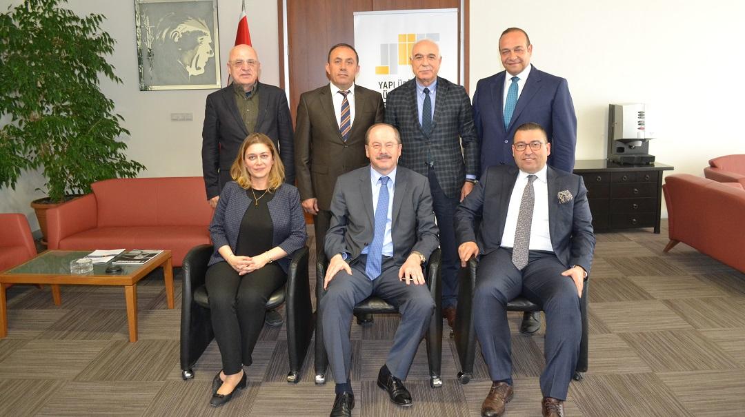 Suat Çalbıyık Yapı Ürünleri Üreticileri Federasyonu'nun Yeni Başkanı Seçildi
