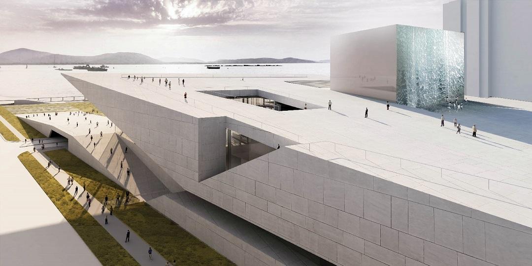 İzmir Opera Binasında Yer Teslimi Yapıldı