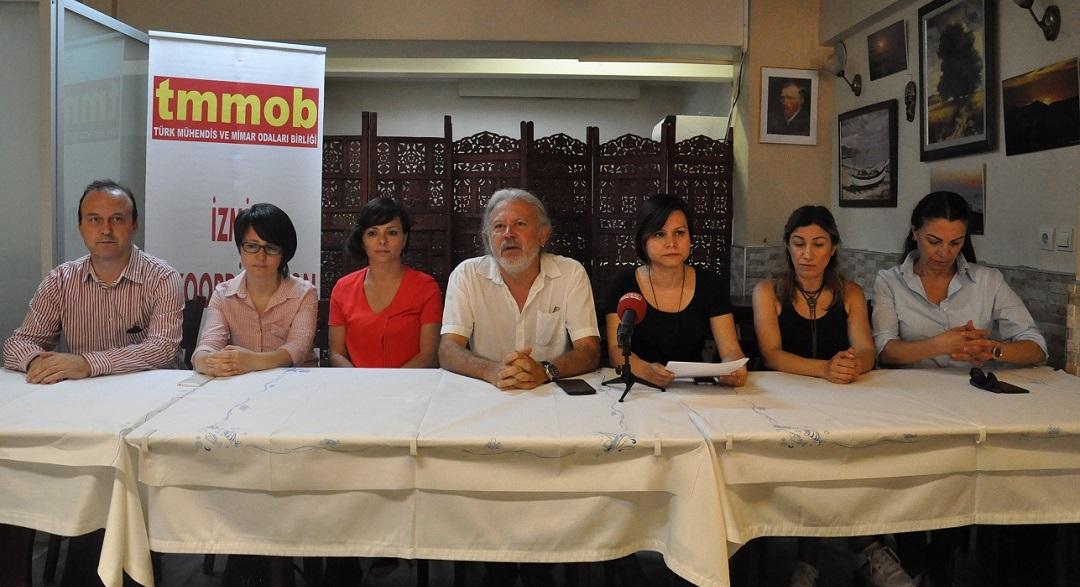 ŞPO İzmir'den İmar Barışı Yasasına Tepki