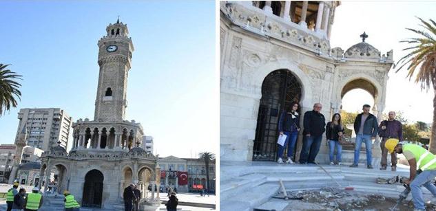 Tarihi Saat Kulesi'nin Restorasyonu 3 Ay Sürecek