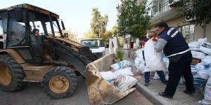 Bayraklı'da Günlük 40 Ton Moloz Toplanıyor