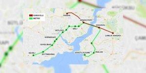 3 Katlı Büyük İstanbul Tüneli Güzergahı