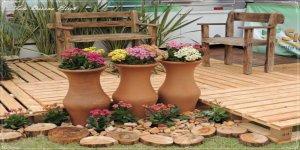 Bahçe Dekorasyonu İçin Yaratıcı Fikirler