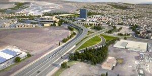 Buca-Bornova Yol Projesinde İnşaat Başladı