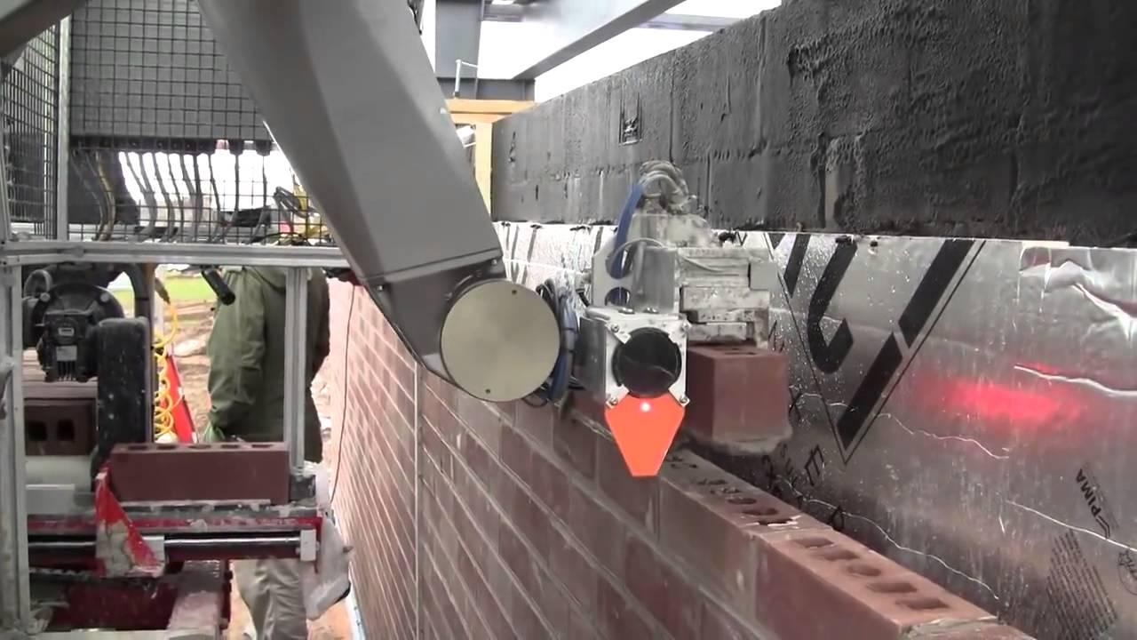 Duvar Ören Robot - Geleceğin İnşaat Teknolojisi