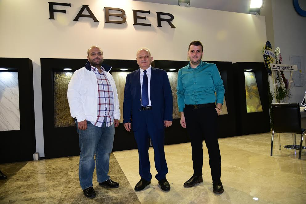Faber Mermer Dubai ve New York'ta Showroom Açacak